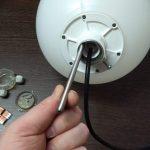 Záhradná LED guľa 24V 2