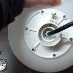 Záhradná LED guľa 24V 3