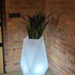LED kvetináč Volcano 1